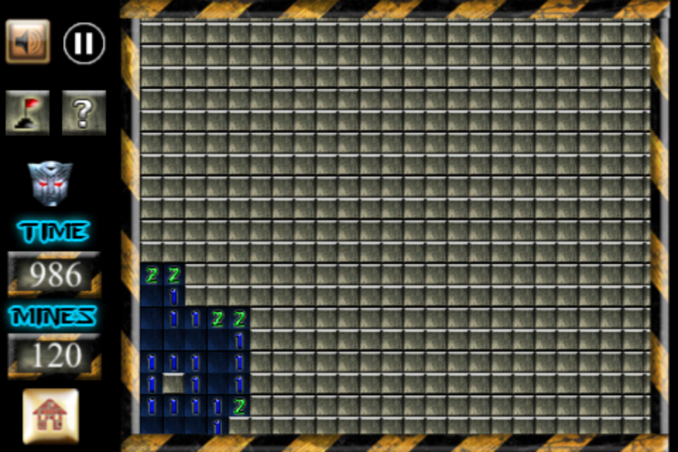 Screenshot Advanced  Minesweeper for iPhone & iPod